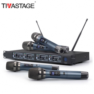 GUANGZHOU UHF MIC Wireless Voz Professional
